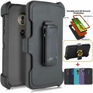For Motorola Moto G7 Power G7 Supra Case Belt Clip Fit Otterbox Defender Cover