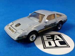 LOOSE MATCHBOX NISSAN 300 ZX TURBO SILVER 50TH ANNIVERSARY UN PACKAGED