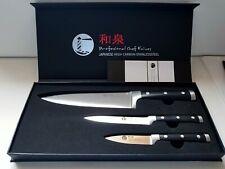 3-tlg. Izumi Ichiago Messer- Set Professional Chef Knives