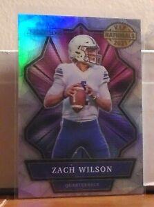 2021 Wild Card Alumination:NSCC VIP Exclusive: Zach Wilson-BYU/NY Jets
