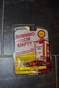 Greenlight 1/64 1971 Datsun 240Z Shell Running on Empty Diecast New sealed