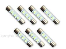 7 WARM WHITE 8V LED Lamp Fuse-Type Bulbs for Marantz 2225, 2226, 2226B - 7WW