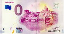 VATICANO Pont Saint-Ange, 2019, Billet 0 € Souvenir