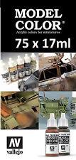 Cualquier Modelo 75 X Vallejo Color-Elige Cualquier Color De 17ml/Auxiliar/Otras Rangos