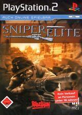 Sony ps2 jeu-sniper ELITE (avec emballage d'origine)