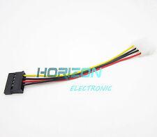 10PCS 4Pin IDE Molex Male 15Pin Serial ATA SATA Hard Drive Adapter Power Cable