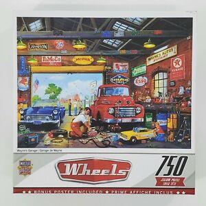 Wheels Jigsaw Puzzle Wayne's Garage 750 Pieces