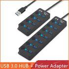 USB 3.0 Hub 4 Ports / 7 Ports Splitter Computer Peripherals USB Power