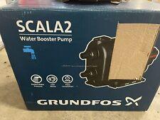 Grundfos Scala2 Water Pressure Booster Pump 115v 98562818
