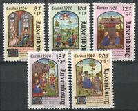 Luxembourg 1986 Mi. 1163-1167 Neuf ** 100% Caritas, Art