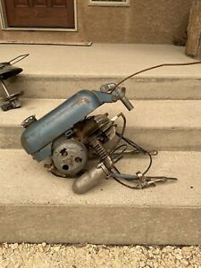 Vintage Bicycle Engine Motor Mini Motor Gearless Cycle Outboard Engine Whizzer
