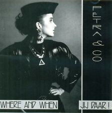 PETRA & CO - Where and when / Jij Daar! 8TR CD 1990 / NEW BEAT / TECHNO