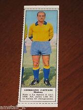 *GIORDANO CATTANI MODENA=FIGURINA=1966/67=ALBUM FIGURINE CALCIATORI TEMPO