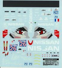 Colorado Decals 1/24 ORECA 03 NISSAN #26 WINNER LMP2 LE MANS 2011