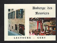 """LECTOURE (32) AUBERGE des BOUVIERS """"M & J  DURIGON Proprio"""" intérieur extérieur"""
