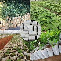FARM 100PCS PLANT BAG SAPLING GROW POUCH FLOWER PLANTING GARDEN ACCESSORIES
