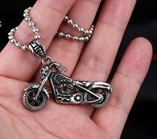 Edelstahl Anhänger 316L Super Bike Motorcycles Biker Chopper Harley  - NA14