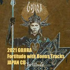 4B 2021 GOJIRA Fortitude with Bonus Tracks JAPAN CD