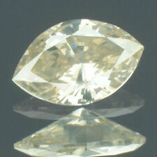 0.18 Carat NATURAL Greyesh Brown DIAMOND LOOSE for Setting Marquise Cut