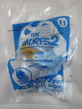 McDonald's Smurfs 2 Movie HM - #11 Harmony Toy Original Package Torn Corner 2013