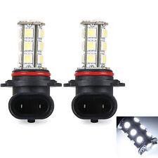 2X White 9006 HB4 5050 18-SMD Hight/Low Beam Fog Driving DRL LED Bulb Light 12V