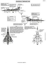 Berna Decals 1/32 DASSAULT MIRAGE IIIR French Jet Fighter