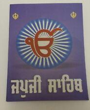 Sikh Japji Sahib Ji Bani morning prayer Gutka Punjabi paperback book Pocket size