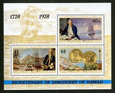 Cook Islands   1978   Scott # 482a    Mint Never Hinged Souvenir Sheet