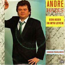7inch ANDRE HAZES een keer in m'n leven HOLLAND EX+ (S1670)