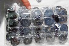 7948p LOT of FIFTY50 RARE 1in100 BLACK Ammonite PAIR Crystal FOSSIL MEDIUM 3-4cm