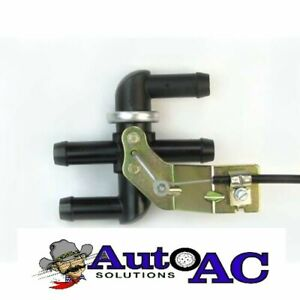 """CABLE OPERATED BYPASS HEATER CONTROL VALVE NEW WITH 48"""" CABLE FOR BUICK"""