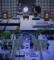 New Horizons: Japanese Onsen Hotel (h0t Spring) Theme Set 118 pcs + design code