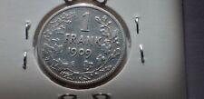 1 Fr belge  1909  argent