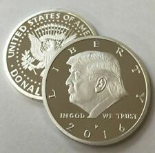 Rare Donald Trump Republican US Eagle White House Collection Silver Zinc Coin TR