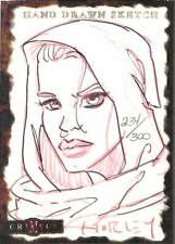 Crimson 2001 Dynamic Sketch Card Horley 234/300