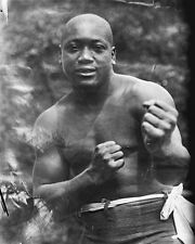"New 8x10 Photo: Heavyweight Champion Boxer Jack Johnson, The ""Galveston Giant"""