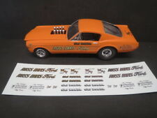 New Release! Gas Ronda 66'/67' AWB 1/25 Decal from Fremont Racing Specialties