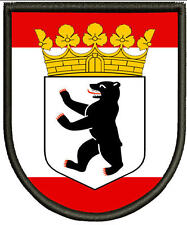 Berlin Wappen  Patch, Aufnäher.Aufbügler.