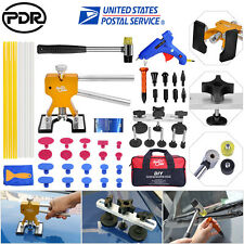 Paintless Dent Repair Hail Lifter Kits PDR Tools Damage Removal Glue Gun Tap Kit