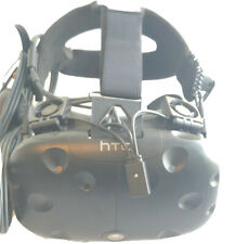 HTC Vive Virtual Reality Headset + Deluxe Audio Strap, Working & Fast Shipping