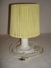RDA mesa de noche amarilla lámpara lámpara ostalgie lamp