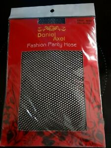 Black Daniel Axel fishnet tights - one size