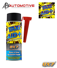 Diesel Petrol Engine Injector Cleaner & Fuel Stabiliser + Free Gloves TAXI AID