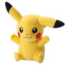 TOMY   (T18566)  Pokemon Sun & Moon Pikachu Sitting with Both Hands Up Plush