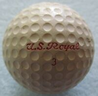 OLDER DIMPLE GOLF BALL-U.S. ROYAL CADWELL-GEER COVER  NICE CONDITION  1946