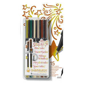 NEW! Chameleon Markers Colour Blend Fine Liner Pens Art Markers Free Post AU