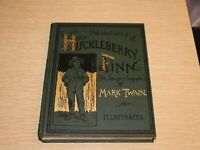 Adventures of Huckleberry Finn Facsimile of 1885 First Edition Mark Twain 1991
