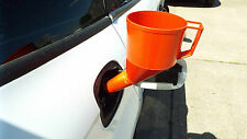 RED FUEL FUNNEL THAT DOES NOT NEED SOMEBODY TO HOLD,WITH FILTER&HANDLE