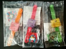 McDonalds Happy Meal Toy 3 Different Watches From Justice League/ Hello Kitty