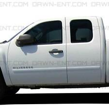 BODY SIDE Moldings PAINTED Trim Mouldings For: SILVERADO 1500 EXT CAB 2007-2013